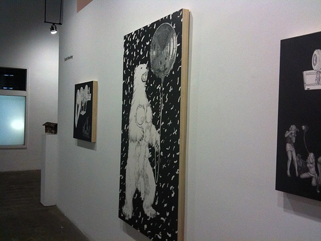 From 'Recreation View' at Bert Green, Los Angeles