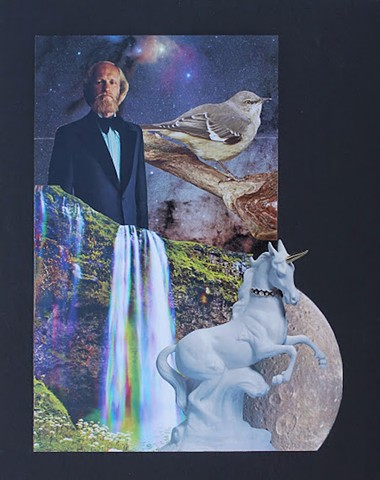 Psychedelic Goats and Other Horned Creatures No. 7