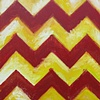Chevron (Red & Yellow)