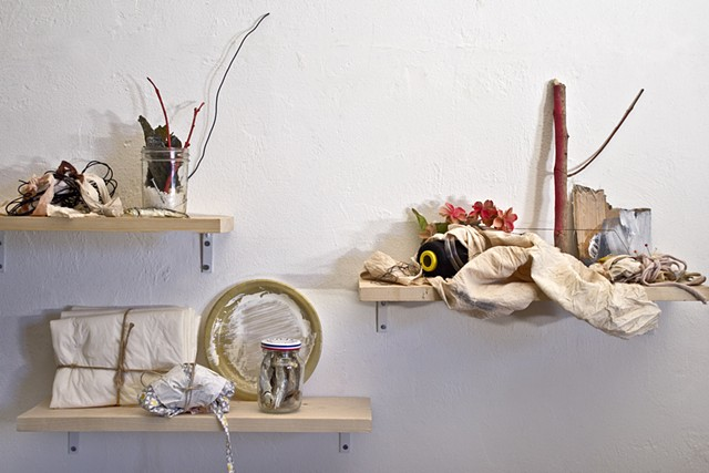 contemporary, mixed media, assemblage