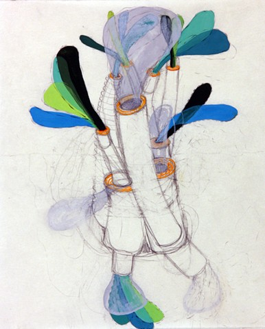 System Series drawing by Kathleen Thum