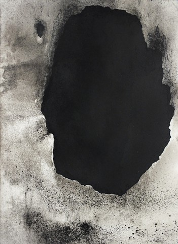 Charcoal Drawing, Fossil Fuels, Contemporary Drawing, Envirnomental Art, Climate Change
