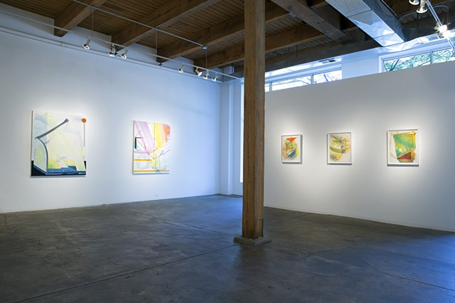 "Installation View of ""Marco [Polo]"" at Carrie Secrist Gallery, Chicago"