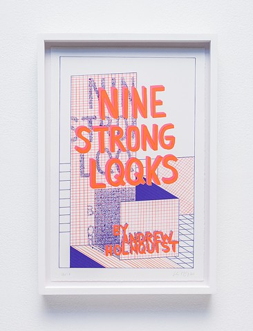 Nine Strong LQQks Title Page