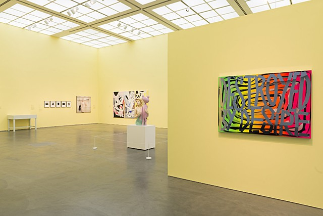 Work featured in the show Eternal Youth at the Museum of Contemporary Art Chicago