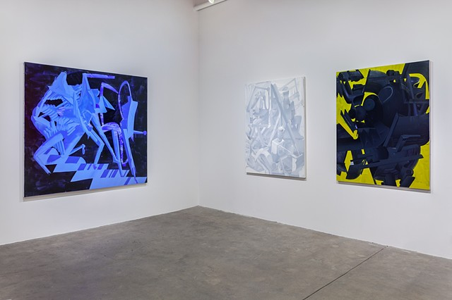 Installation View: STAGE LEFT at Carrie Secrist Gallery