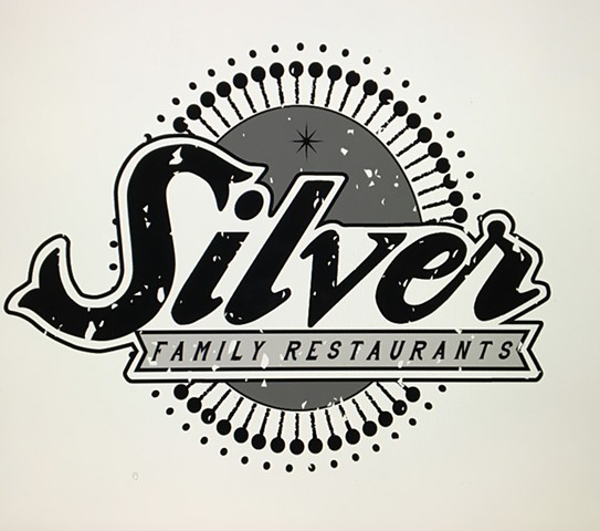 Identity design for Silver family restaurants Columbus Ohio.