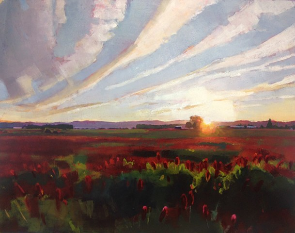 """Rowena Sunset"" SOLD"