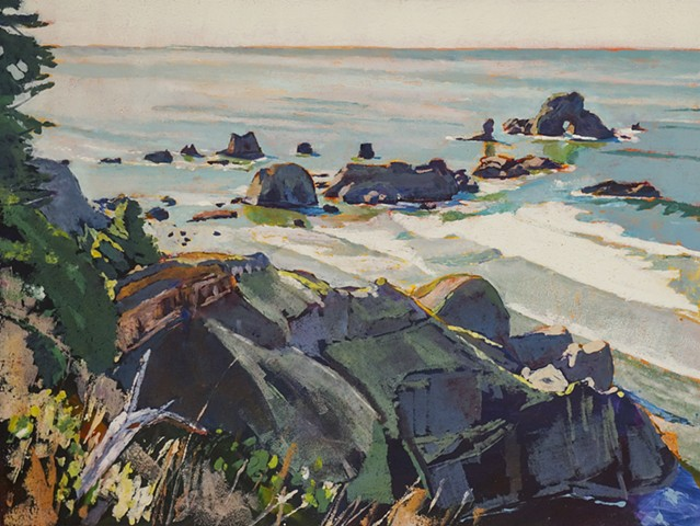 Ecola Trail. SOLD