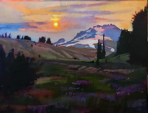 """Mt. Hood Dream"" SOLD"