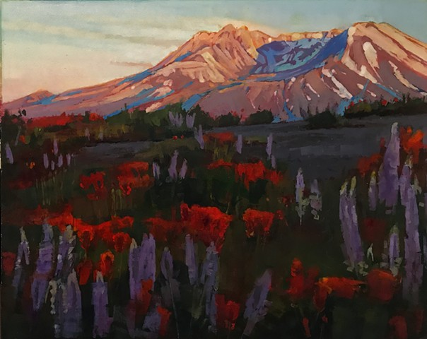 """Mt Saint Helens"" SOLD"