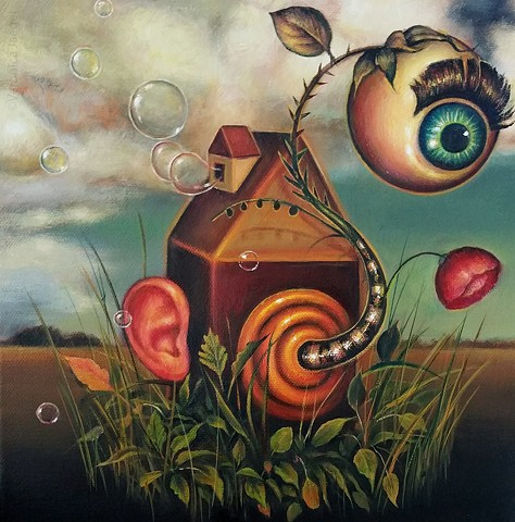 surreal,  popsurreal, pop surrealism, popsurrealart, surrealism, portrait, lowbrow, women artists, oil painting, painting, contemporary art, contemporary painting, women artists, texas artists, latin american artists, art, artist, fine art, oil on canvas,
