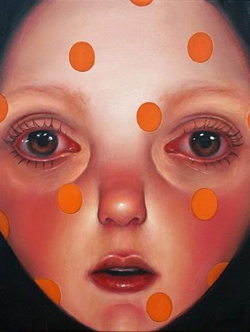 surreal art, pop surrealism, art, lowbrow art, contemporary painting, contemporary art, oil painting, women artists, veronica jaeger art, portrait, imaginary portraits, beautiful bizarre