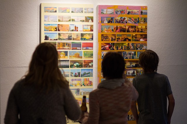Reception of Literature of the Non-Word Oct/2014  ArtBlock gallery