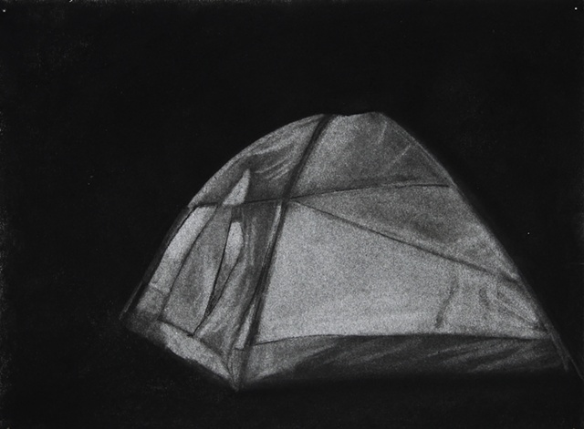 Glowing Tent (side)
