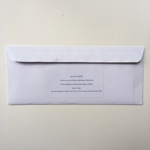 June 2019 envelope for a corpse