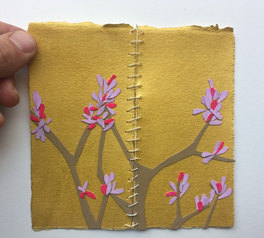 pocket size foldable flowering tree