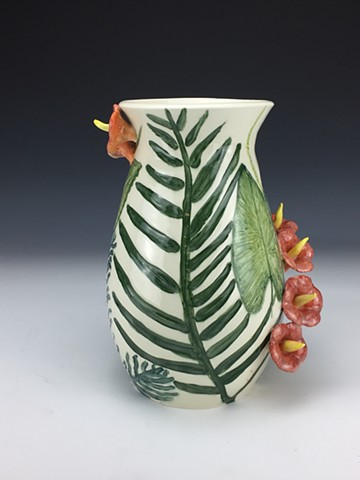 Tropical Flower Vase (View 5)