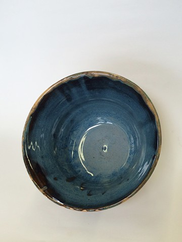 Cork and Blue Bowl