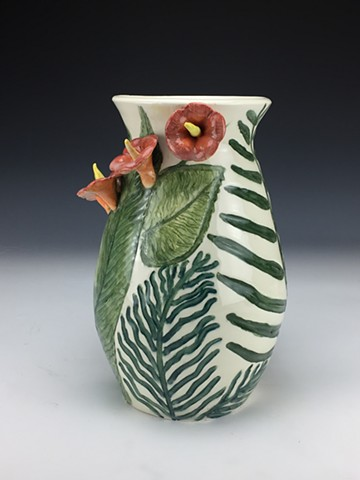 Tropical Flower Vase (View 4)