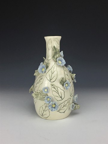 Blue Flower Vase (View 1)