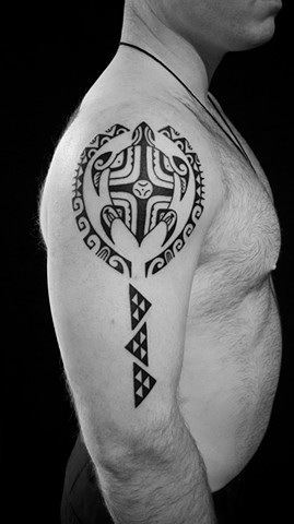 Polynesian inspired tribal