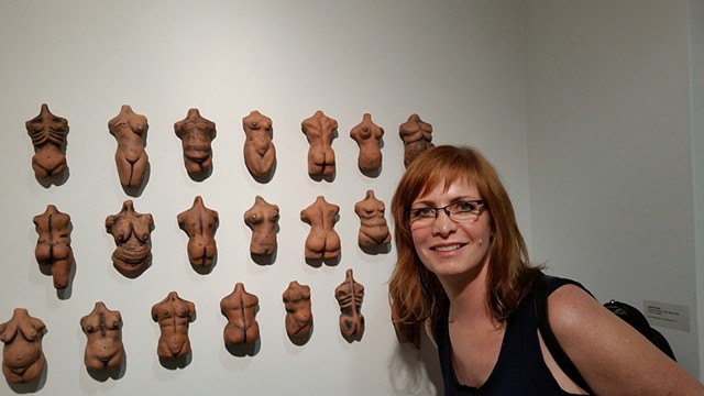 """Historically Altered, Fetish Figures"", at The Lawndale Center, Houston, Texas. 2014"