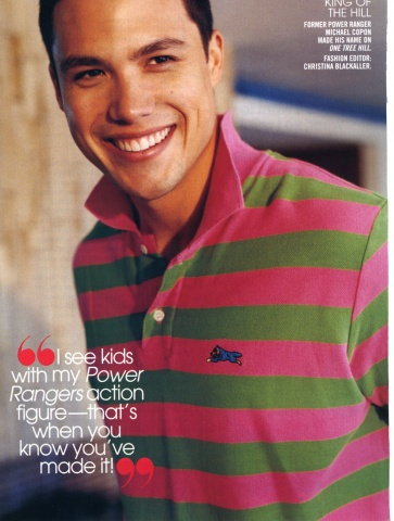 Teen Vogue Michael Copon