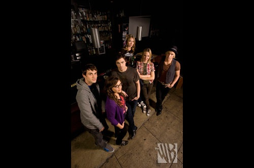 Cast of the WB's Rockville. CA