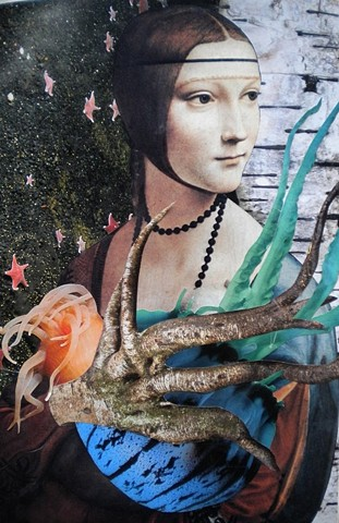 Lady With A Jellyfish