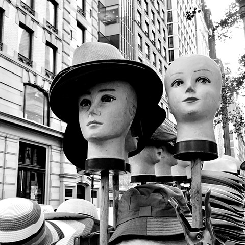 Heads on Fifth Avenue