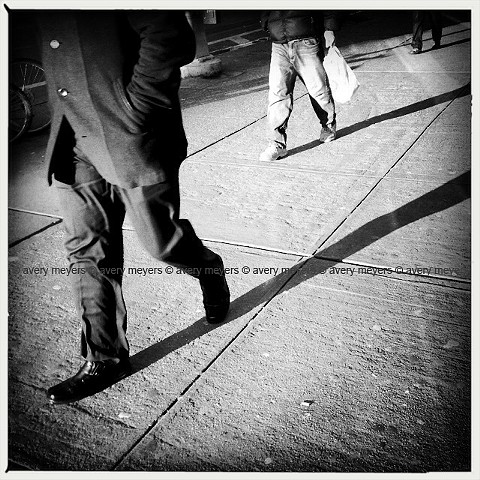 Winter Light - Walk the Line NYC
