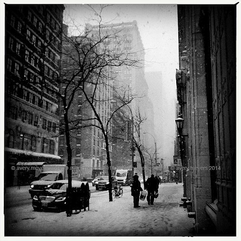Blizzard '14 - Madison Avenue NYC