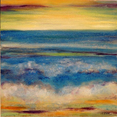 Contemporary/Abstract ocean view