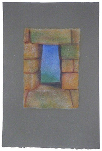 Passage 16 Oil Painting on Dieu Donne (handmade) Paper