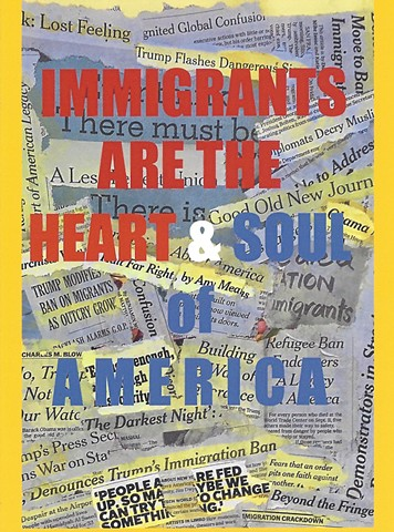 IMMIGRANTS ARE THE HEART & SOUL  card