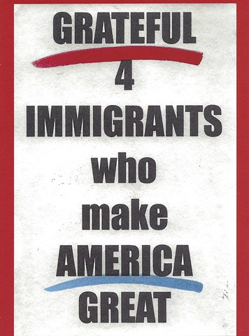 GRATEFUL 4 IMMIGRANTS card