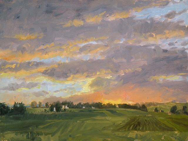 Whitemarsh Sunset II