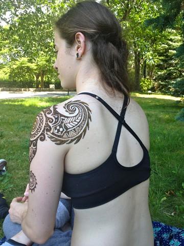 Polynesian shoulder design angle 5
