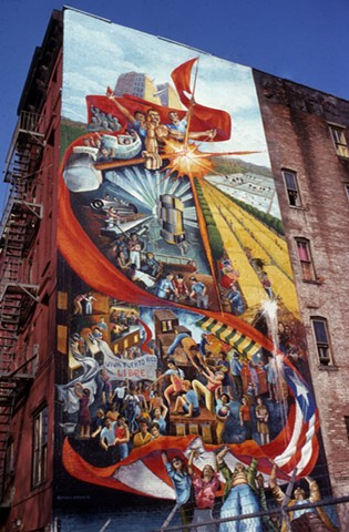 Murals and billboards