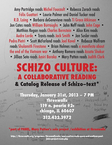 SCHIZO CULTURE: A Collaborative Reading