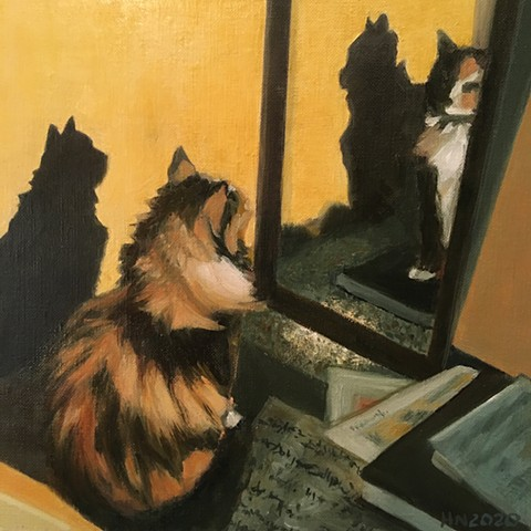 Four Ingrids (Calico Cat)