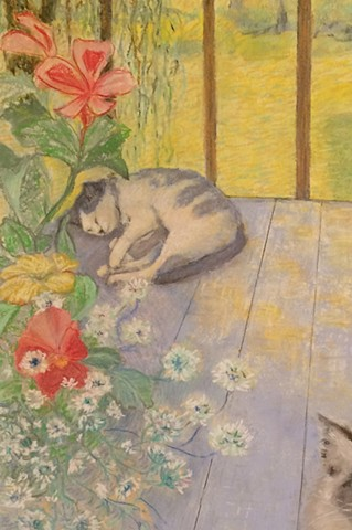 detail - Cats on the Deck