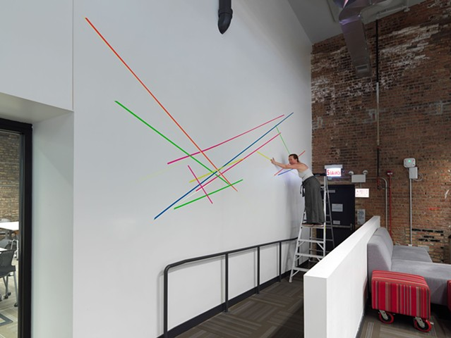 Pick Up Sticks (installation)
