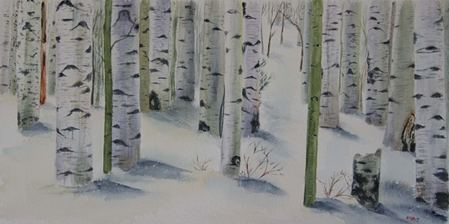 Into the Aspens (Sold)