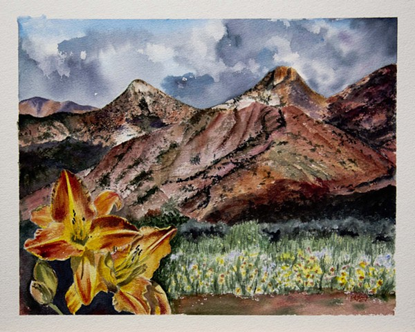 Summer in the High Desert (Sold)