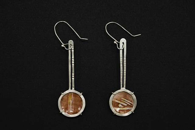earrings, enameling, enamels, jewelry