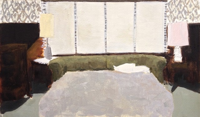 small interior limited palette (after Cassavetes)