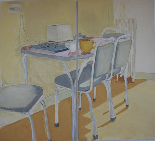 untitled interior (kitchen table)