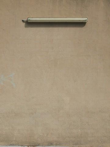 Digital photograph pastel tones fluorescent light Lance Ward rag paper print wall rendered texture
